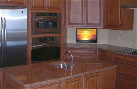 cabinet tv mount kitchen small kitchen tv drop tv in kitchen nexus 21 8680
