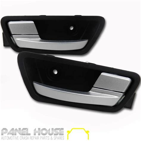 ford falcon fg series sedan ute   rear pair interior door handle satin panel house
