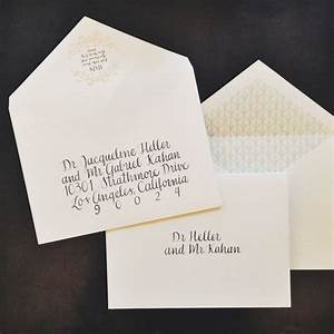wedding invitation outer envelope etiquette yaseen for With wedding invitation etiquette outer and inner envelopes