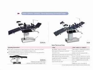China Manual Operating Table  3008s