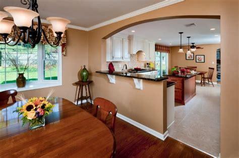 affordable  wall  kitchen  breakfast bar idea