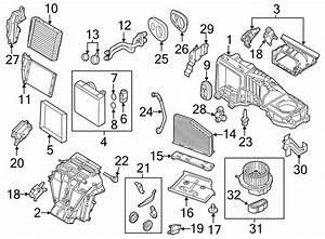 Volkswagen Rabbit Hvac Duct Adapter  Control  Denso  Zone