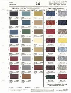 1980-86 Ford Paint Chips -  Not 56k Friendly