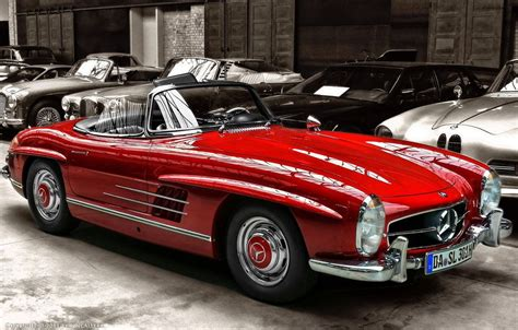 Good Looking Mercedes Benz Classic Car Hd Wallpapers Cars