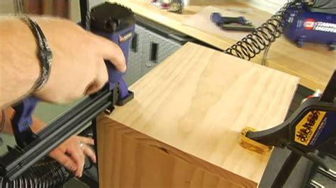 woodworking basics build  wood cube youtube