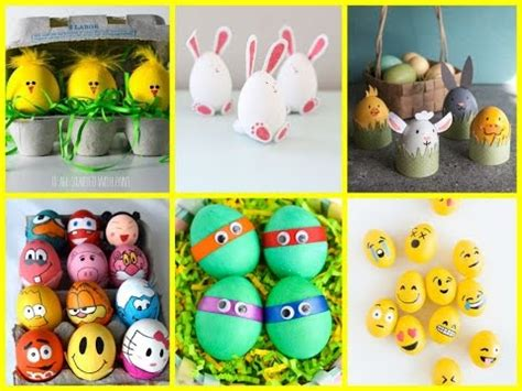 Decorating Ideas For Easter Eggs by Diy Easter Crafts For 25 Easter Egg Decorating