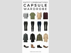 36Piece Fall Winter Capsule Wardrobe The Blissful Mind
