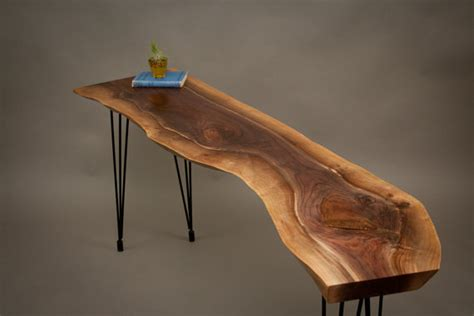 CONSOLE TABLES   Live Edge Wood Console Tables and Furniture   Serving The Greater Seattle