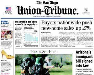 San Diego Union-Tribune Subscription Discount | Newspaper ...