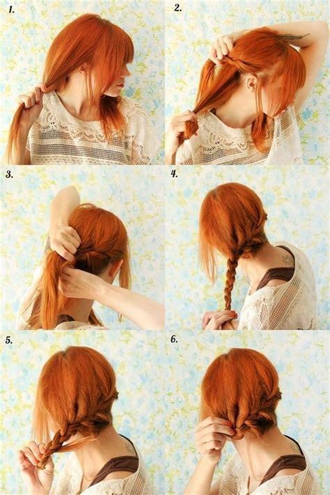 creative hairstyles    easily   home  pics izismilecom