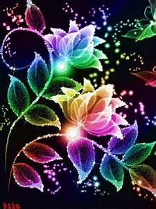 Neon Flowers CLICK ON THE PICTURE AN WATCH IT E