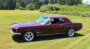 Royal Maroon 1968 Ford Mustang Hardtop - MustangAttitude.com Photo Detail