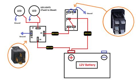 Led Light Bar Switch Wiring Diagram by Togle Switch Wiring Diagram Led Bar Wiring Schematic