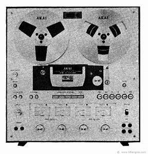Akai Gx-270d-ss - Manual  4 Channel Reel To Reel Tape