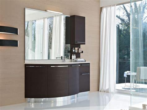 meuble sous vasque en weng 233 avec portes comp mfe20 by ideagroup