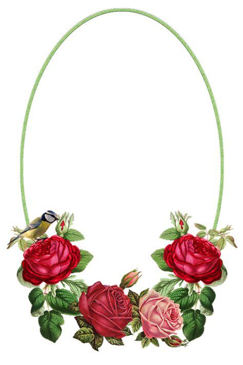 Marco De Flores Rosas Png Flores Imagenes