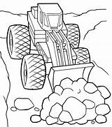 Bulldozer Coloring Pages Crane sketch template