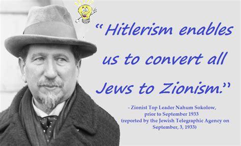Hitler Was A Zionist