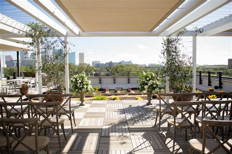 Rooftop 220 Garden Terrace Outdoor Wedding Venue Tampa