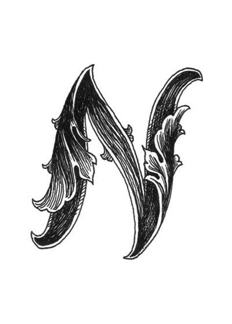 leaf script  art print filigreescrollspatternsacanthusleaf script pinterest letter