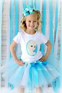 Boutique Fiesta Online : frozen inspired birthday tutu outfit kids pinterest tutu birthdays and frozen birthday ~ Medecine-chirurgie-esthetiques.com Avis de Voitures