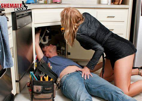 Comely Girlfriend Is Gets A Plumber