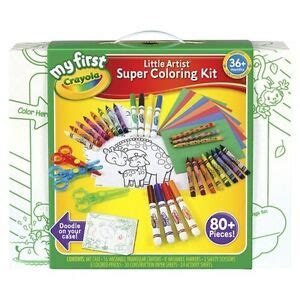Crayola Coloring Kit by My Crayola Artist Coloring Kit Ebay