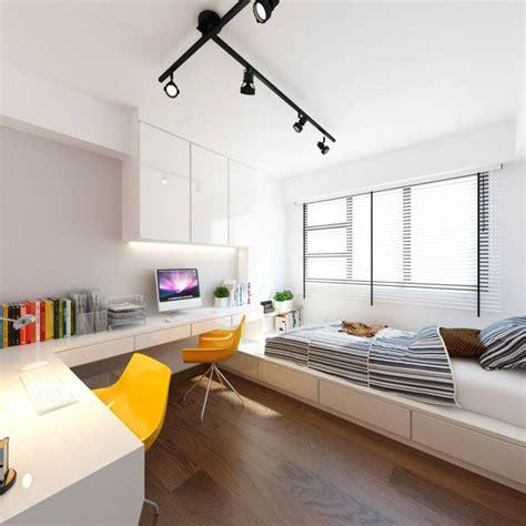 Hdb Bedroom Interior Design Ideas by Hdb 4 Room Bto Vintage Contemporary Punggol Emerald