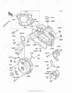 Kawasaki Atv 2001 Oem Parts Diagram For Engine Cover S
