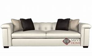 Townhouse by bernhardt interiors leather living room sofa for Bernhardt leather sectional sofa prices