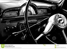 Vintage car interior stock image Image of vintage