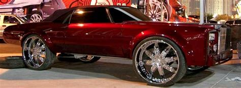 Cars With Chrome Rims : Pimped Out Cars Donk 72 Box Chevy Caprice Classic Charger
