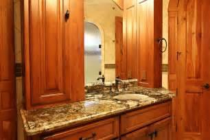 Master Bathroom Granite Countertop