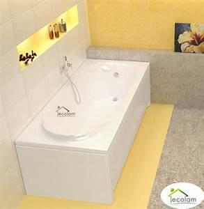 Acryl Badewanne Reinigen : badewanne wanne rechteck 170 x 75 cm sch rze f e ablauf ~ Lizthompson.info Haus und Dekorationen