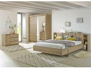 Chambre A Coucher Conforama : lit 160x200 cm myla vente de lit adulte conforama ~ Melissatoandfro.com Idées de Décoration