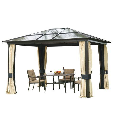 pavillon mit polycarbonat dach pavillon mit festem dach