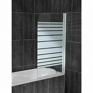 Porte Pour Baignoire : pare douche pour baignoire pas cher ~ Premium-room.com Idées de Décoration