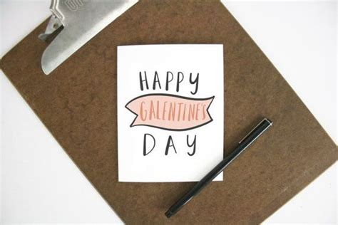 Happy Galentine's Day Card | Funny wedding cards, Note ...