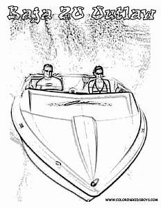 speed boat side view coloring pages With slidepower