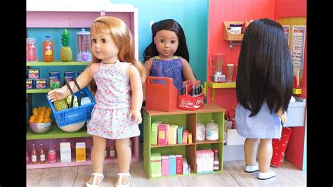 Baby Doll Supermarket Grocery Store For American Girl