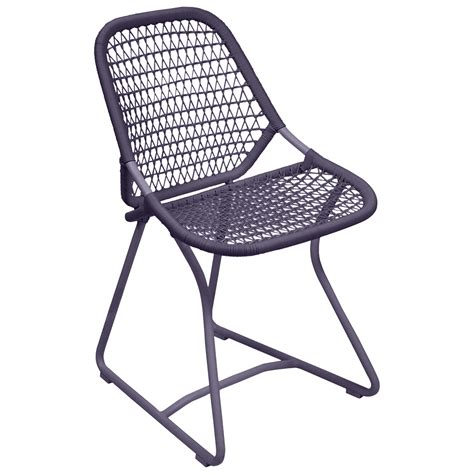 chaise prune sixties chair garden chair outdoor furniture