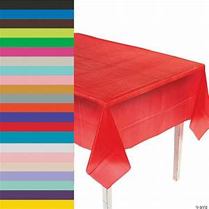 rectangle plastic tablecloth trading