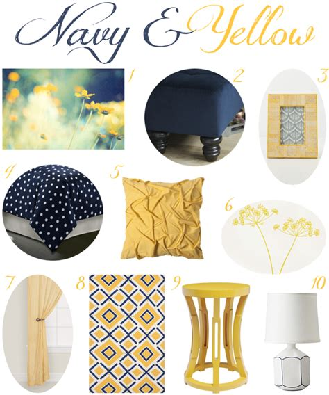 Yellow And Blue Master Bedroom by Navy And Yellow Bedroom Decor This Color