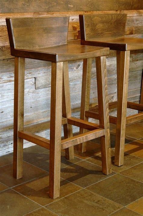 custom barstool  woodvisions  custommadecom