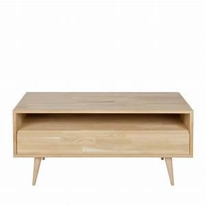 Meuble Tv Chene Massif Moderne : meuble tv design ch ne massif tygo drawer ~ Teatrodelosmanantiales.com Idées de Décoration