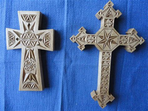chip carving crosses  images wooden crosses