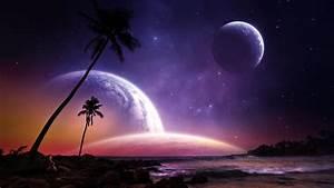好看的星空宇宙美景背景图片
