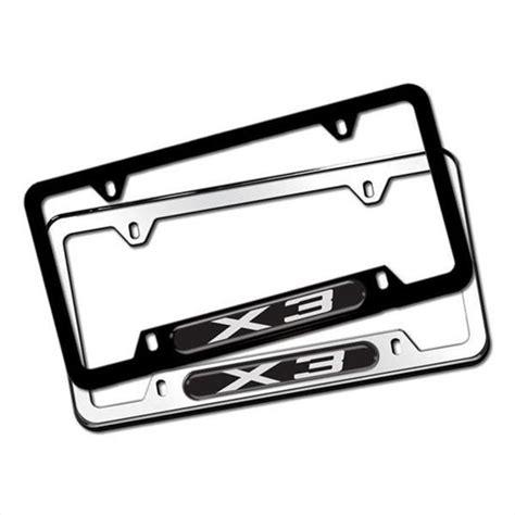 Shopbmwusacom Bmw X3 License Plate Frames