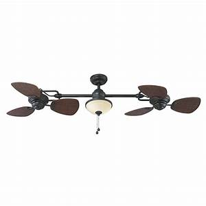 Ceiling glamorous dual fans