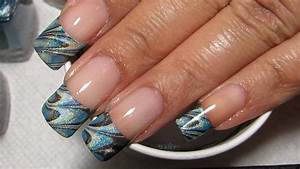 tip water marble nail tutorial water marble